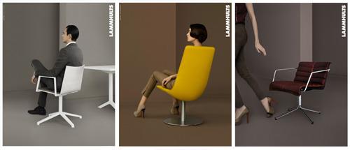 Secret of Lammhults furniture- robust elegance