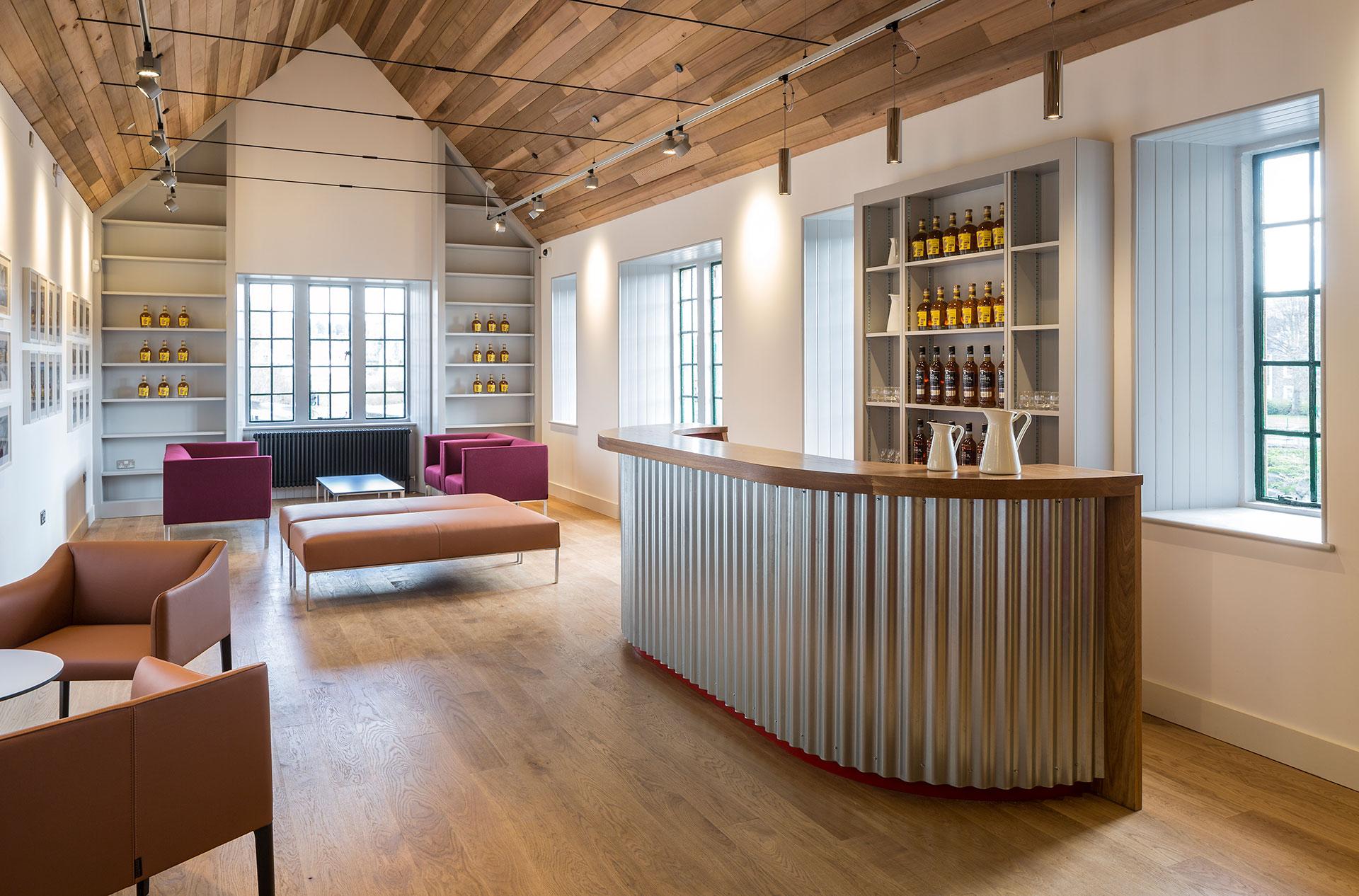 The Borders Distillery Bar Area