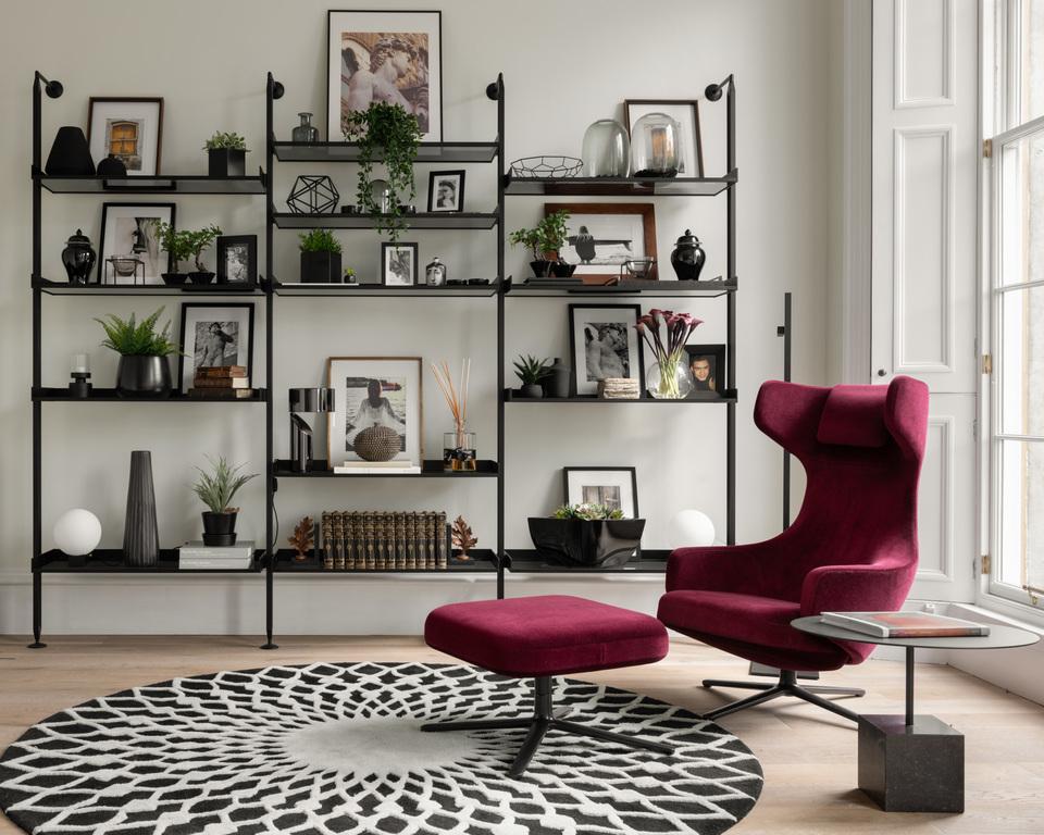 Regent Street Top Floor Bookcase © ZAC and ZAC